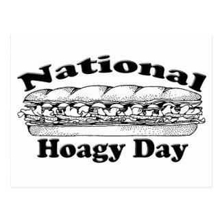 Día nacional del Hoagie Tarjeta Postal
