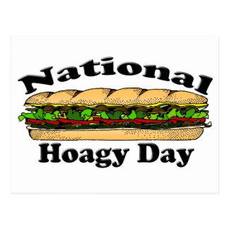 Día nacional del Hoagie Postales