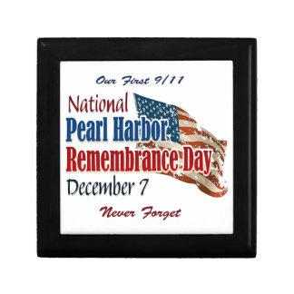 Día nacional del Pearl Harbor Cajas De Regalo