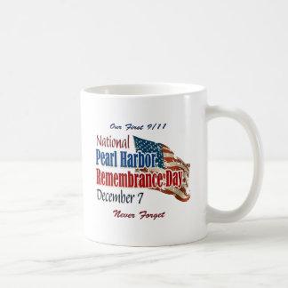 Día nacional del Pearl Harbor Taza De Café