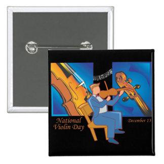 Día nacional del violín pins