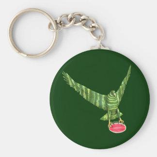 Día nacional Eagle de la sandía Llaveros Personalizados