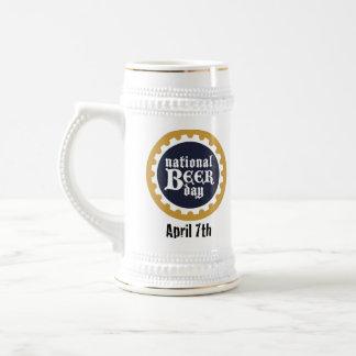 Día nacional Stein de la cerveza Taza