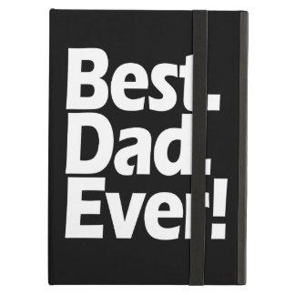 Día negro/blanco de la mejor exclamación del papá