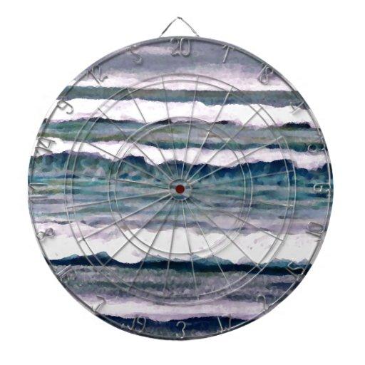 Día nublado 2 - arte del océano de CricketDiane Tablero Dardos