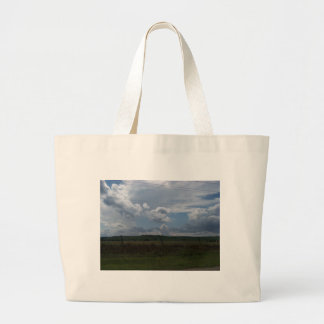 Día nublado bolsa de mano