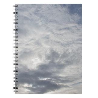 Día nublado de relajación libretas