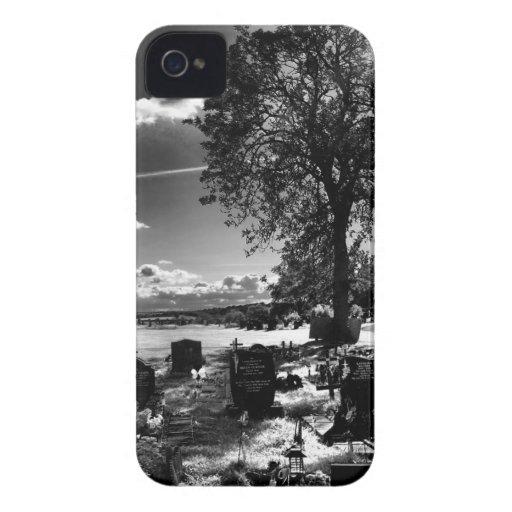 Día oscuro funda para iPhone 4