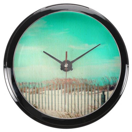Día perezoso de verano reloj aqua clock
