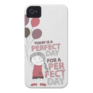 Día perfecto carcasa para iPhone 4