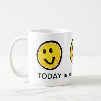 día preferido taza