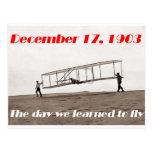 Día que aprendimos volar postal