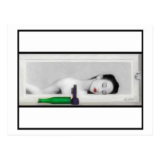 Día que soña la postal del geisha