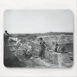 Día reservado en el ~ 1855 de la batería del morte tapetes de raton