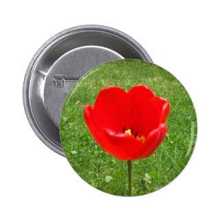 Día rojo de la conmemoración de Amapola-Canadá Pin Redondo 5 Cm