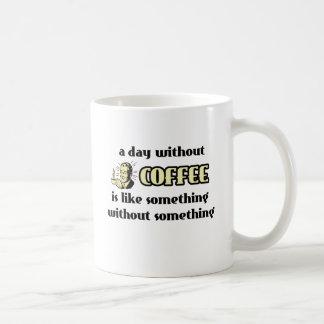 Día sin humor divertido de la taza del café