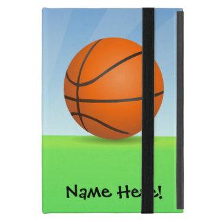 Día soleado del baloncesto de los deportes del iPad mini funda
