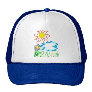 día soleado gorra