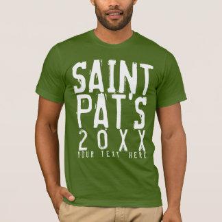 Día sucio personalizado del St. Patricks Playera