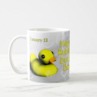 Día taza ~ 13 de enero Ducky de goma