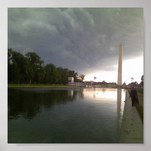 Día tempestuoso impresiones