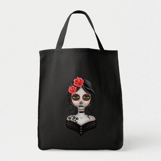 Día triste del chica muerto bolsa
