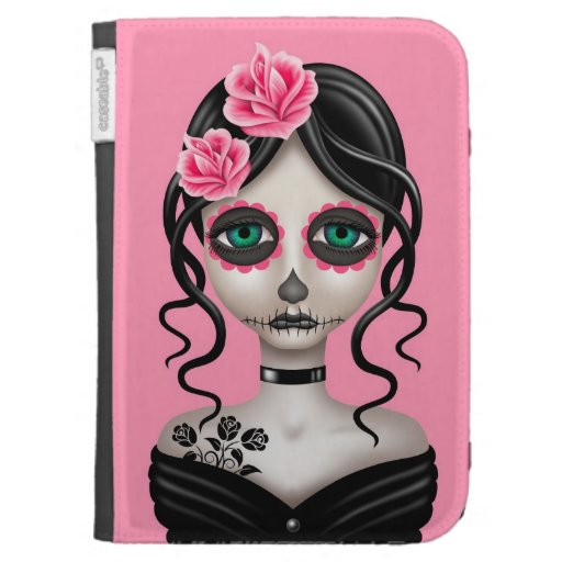 Día triste del chica muerto en rosa
