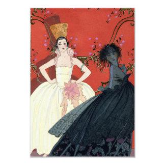 Día y noche en el art déco de París Invitación Personalizada