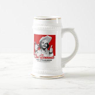 Día y noche gastrónomos de Che Guevara que beben a Tazas De Café