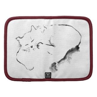 Día Z, gato Sumi-e [pintura de Doris de la tinta] Planificadores
