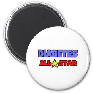 Diabetes All Star Magnet