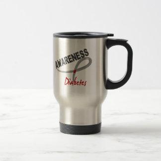 Diabetes Awareness 3 15 Oz Stainless Steel Travel Mug