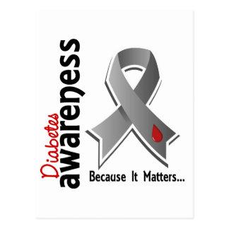 Diabetes Awareness 5 Postcard