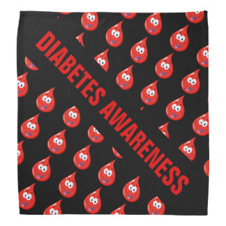 Diabetes Awareness Bandana