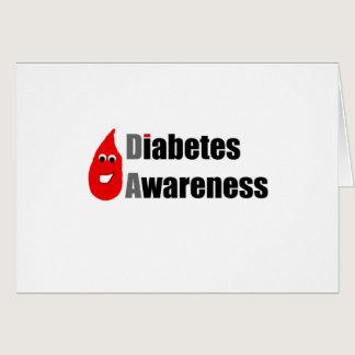 Diabetes Awareness Buddy Card