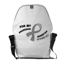 Diabetes Awareness  Get You Down Type 1 Diabetics Courier Bag