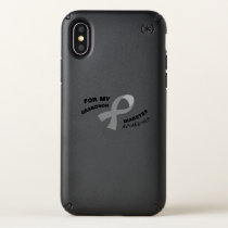 Diabetes Awareness  Get You Down Type 1 Diabetics Speck iPhone X Case