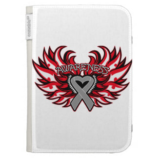 Diabetes Awareness Heart Wings Cases For The Kindle