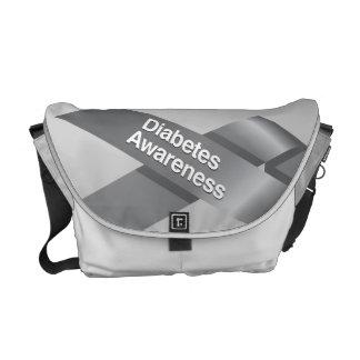 Diabetes Awareness Messenger Bag