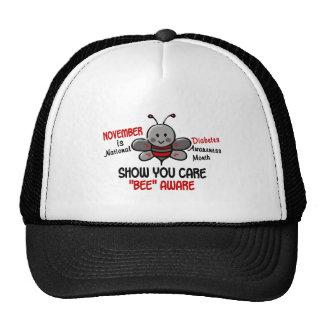Diabetes Awareness Month Bee 1.1 Trucker Hat