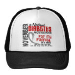 Diabetes Awareness Month Every Month For My Family Hats