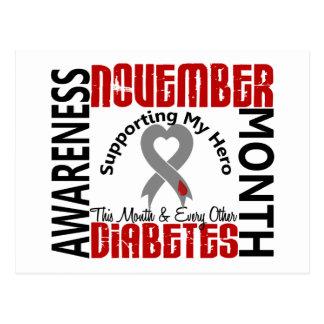 Diabetes Awareness Month Heart 1.3 Postcard