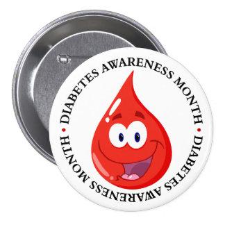 Diabetes Awareness Month Pinback Button