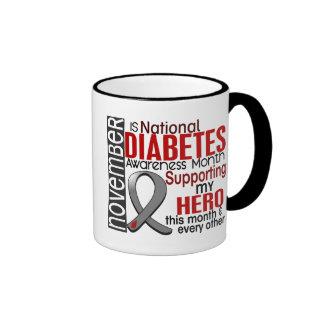 Diabetes Awareness Month Ribbon I2.1 Mug