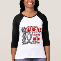 Diabetes Awareness Month Ribbon I2.1 T-Shirt