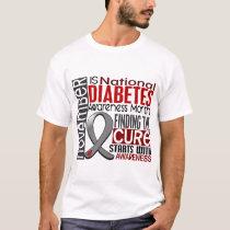 Diabetes Awareness Month Ribbon I2.5 T-Shirt