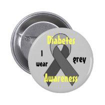 Diabetes  Awareness pin