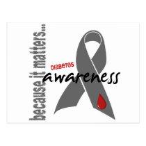 Diabetes Awareness Postcard