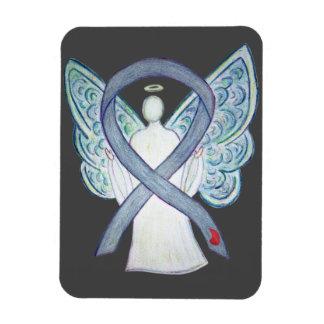 Diabetes Awareness Ribbon Angel NIDDM Magnet