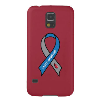 Diabetes Awareness Ribbon Case For Galaxy S5